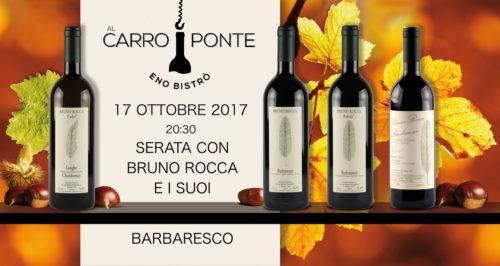 Al Carroponte - Serata degustazione Barbaresco Bruno Rocca
