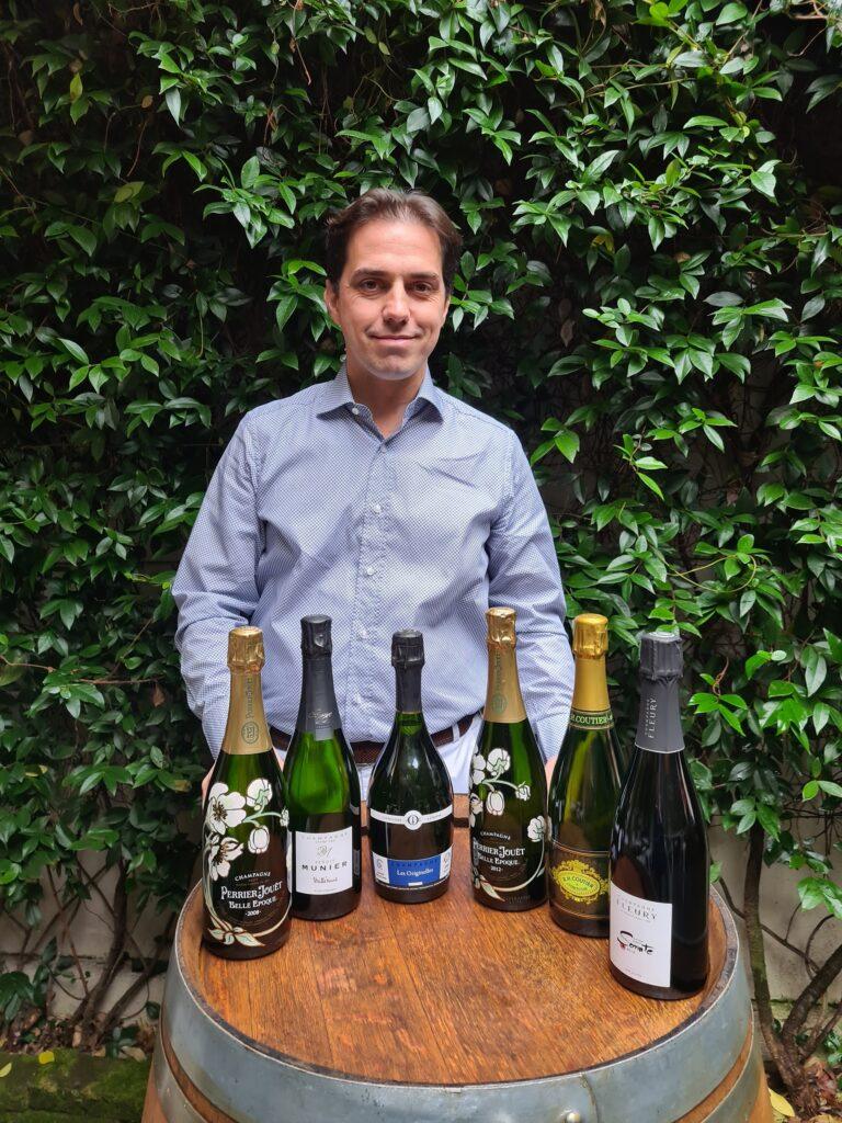 Winetasting con Oscar e TopChampagne